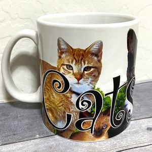 Cats Rule Large Mug 20oz